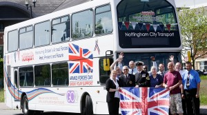 NCT's Armed Forces Day bus