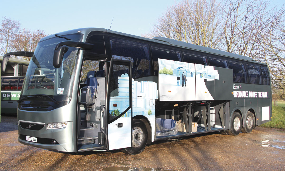 volvo 9700 b11r euro6 - making a virtue out of euro6 - bus & coach