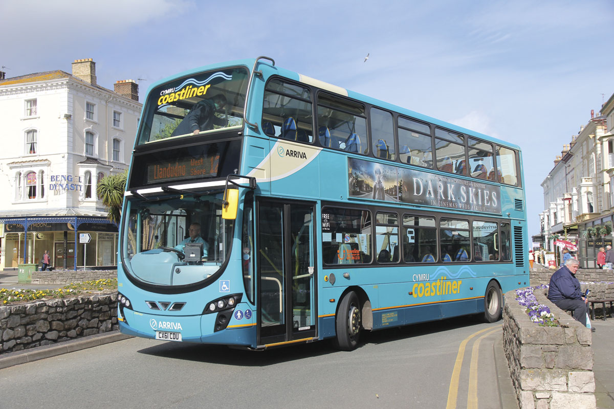 Arriva North West Wales Initiatives Growth Quality on additions with stone