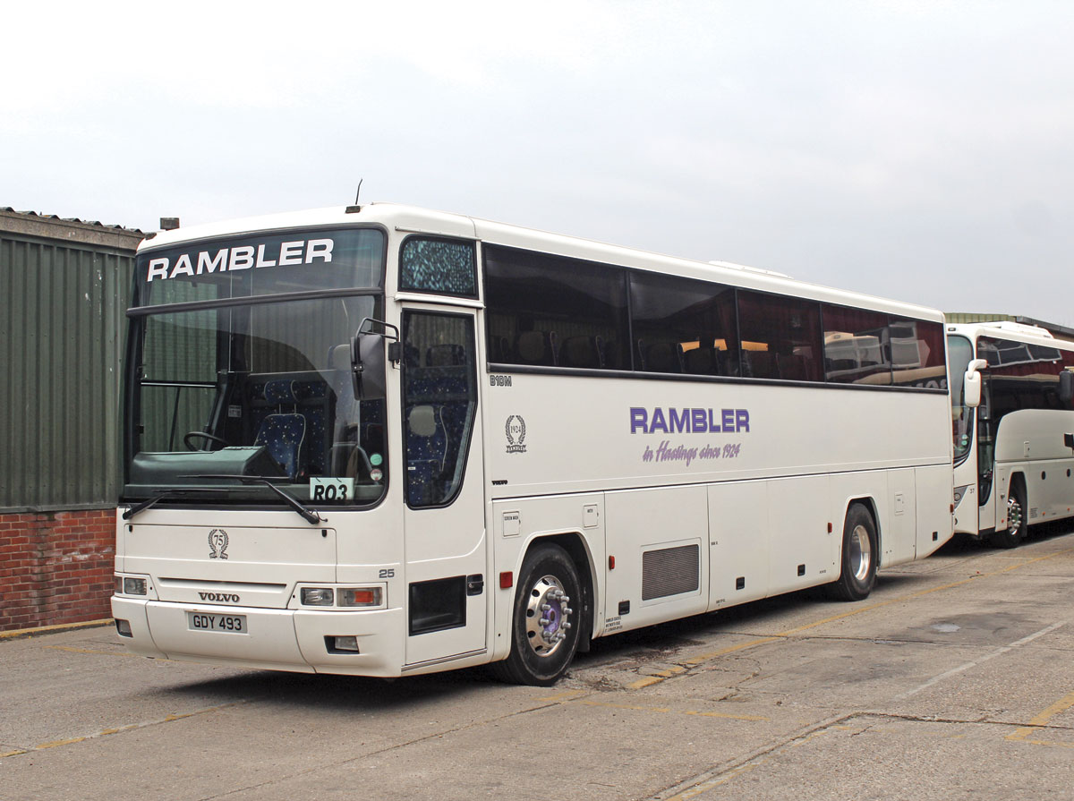 Rambler Coaches celebrate 90 years - Page 2 of 2 - Bus ...