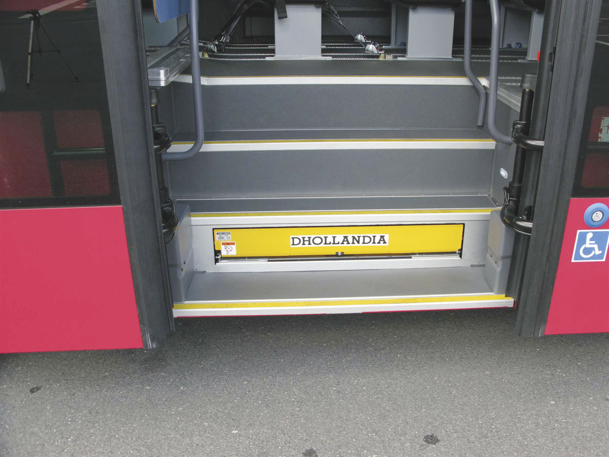 Steps For Buses : Dhollandia a passenger lift manufacturer with ambition