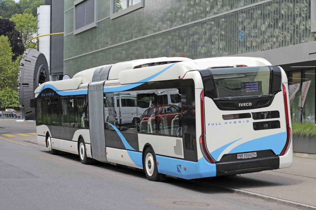 Iveco Urbanway Full Hybrid-Πίσω