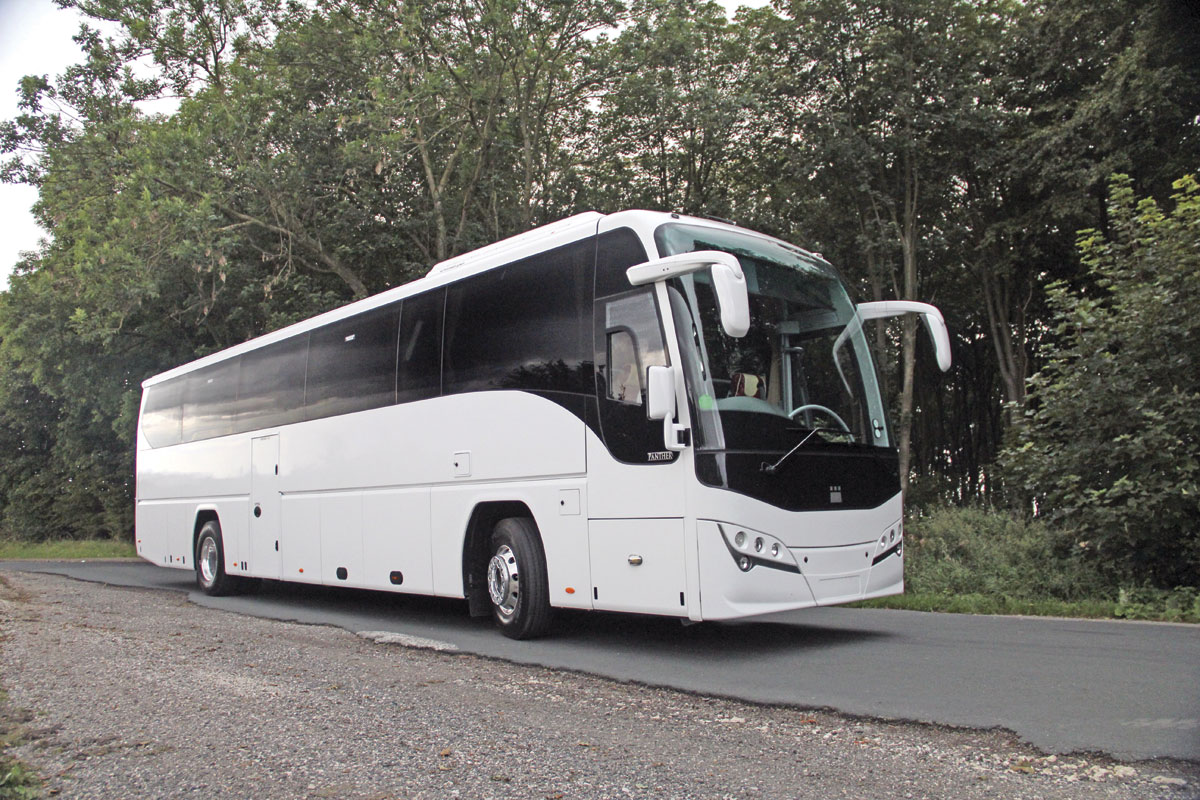 Volvo B11R Euro6 Plaxton Panther 3 - Bus & Coach Buyer