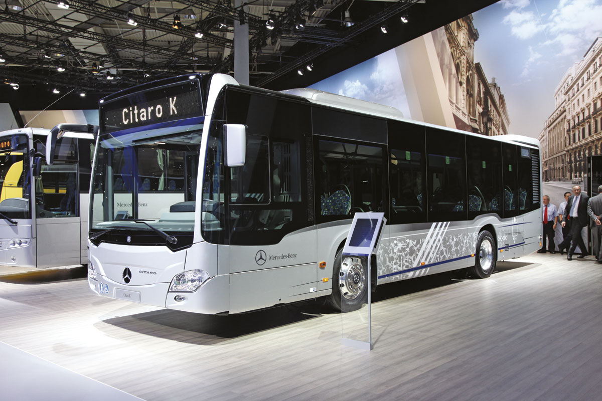 Iaa 2014 hanover bus coach buyer for Mercedes benz atlantic city