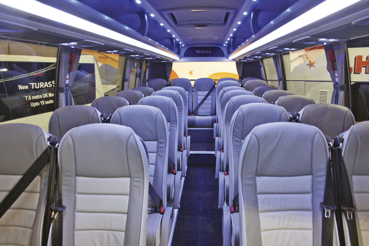 Euro bus expo 2014 life after vario bus coach buyer for Couch 700 euro