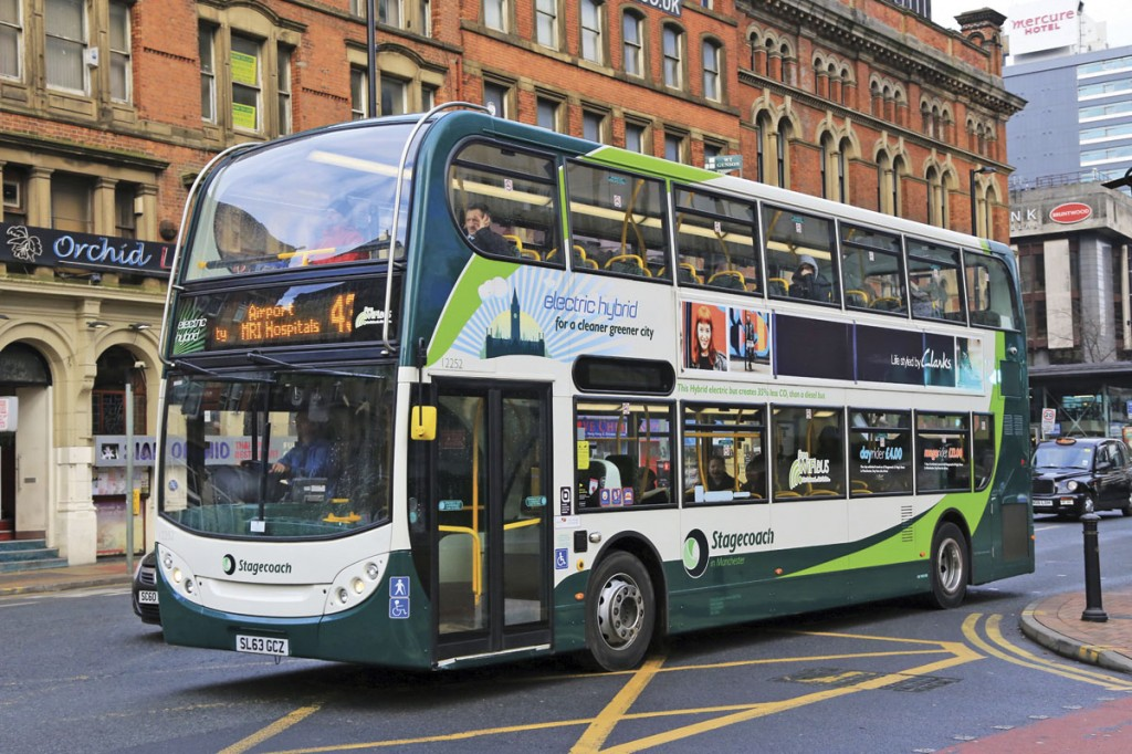 ADL's Enviro400H hybrid features BAE Systems' HybriDive propulsion unit