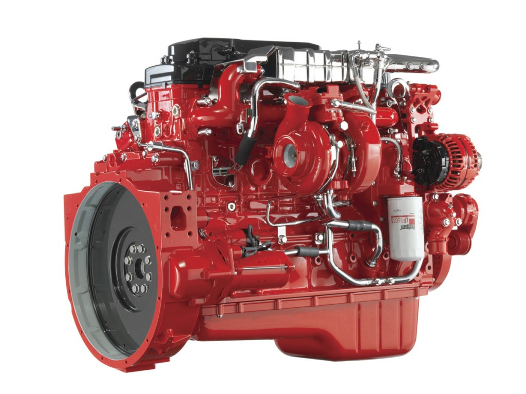 Cummins' ISB6.7 Euro6 Turbo engine. The company has had to roll out much more stringent testing process