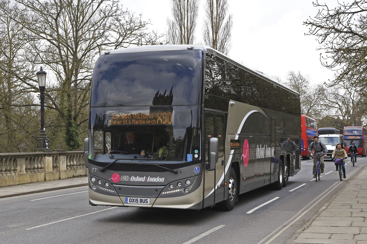 Oxford Bus invests in X90 - Bus & Coach Buyer
