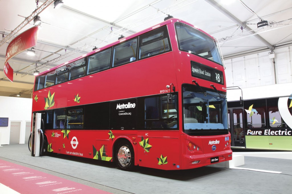 BYD full electric double deck for TfL