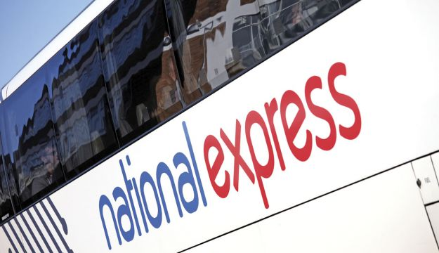 The glazing on this National Express coach is taken care of by Autoglass Specials.