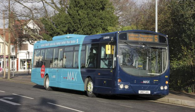 Arriva's new look in Southend