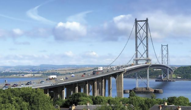 Forth Bridge closed until New Year