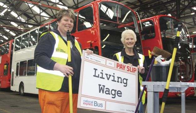 National Express's Living Wage first