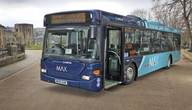 Arriva North East's MAX upgrade
