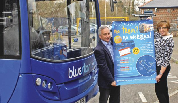 Bluestar's rail disruption solution