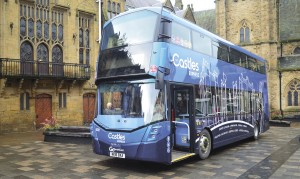 One of the top performing operators in the report was Go-Ahead, with 89% overall passenger satisfaction. Here is one of the company's latest developments, the new Castle Express brand in Go North East's network.