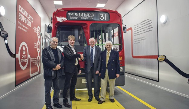 Wrightbus hands over Gold Arrow