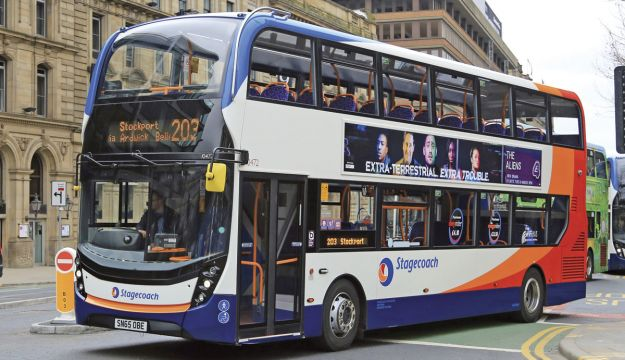 Stagecoach's £97m bus order