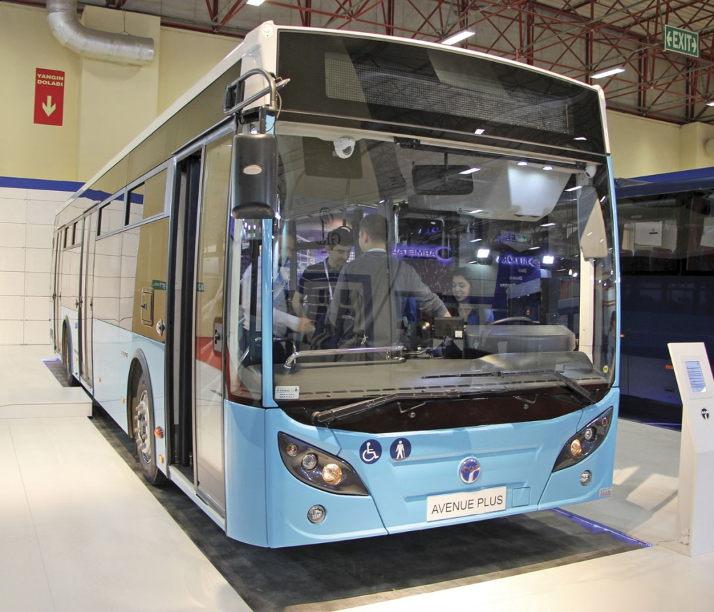 Temsa has restyled the front and rear appearance of the Avenue Plus city bus