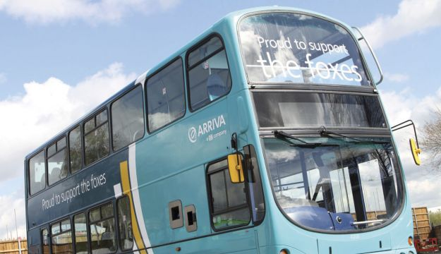 Arriva supports Leicester City