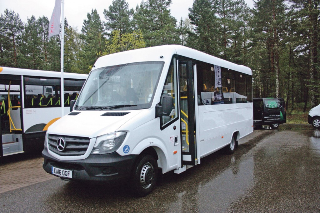 Apse 2016 bus coach buyer for Enterprise mercedes benz