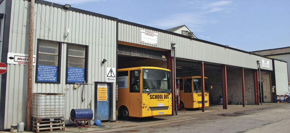 Belle Vue have just taken on the large central section of this workshop unit having had the outer two for some time. The site was once the Crossley factory