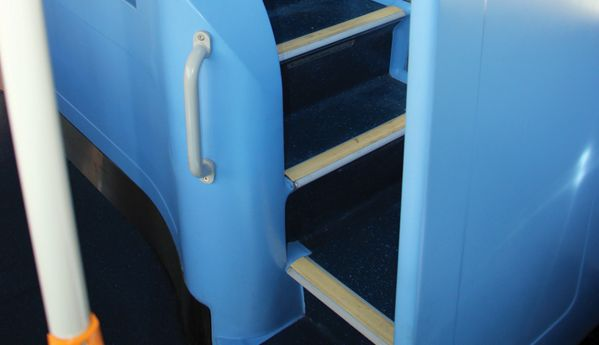 BCI developed the staircase to meet Ensign's needs.