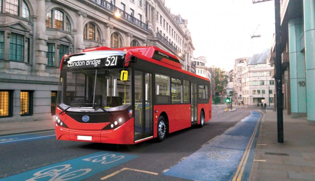 New 10.8m BYD/ADL for Britain