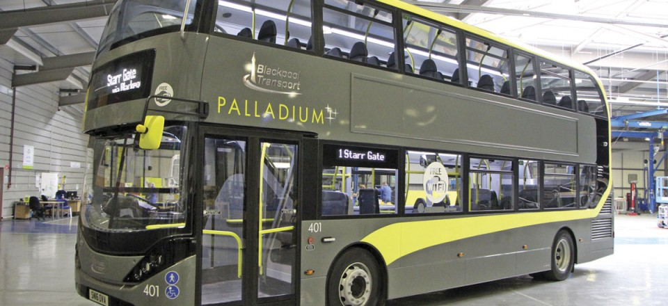 The first Enviro400 City double deckers for a provincial operator are a batch of ten for Blackpool Transport