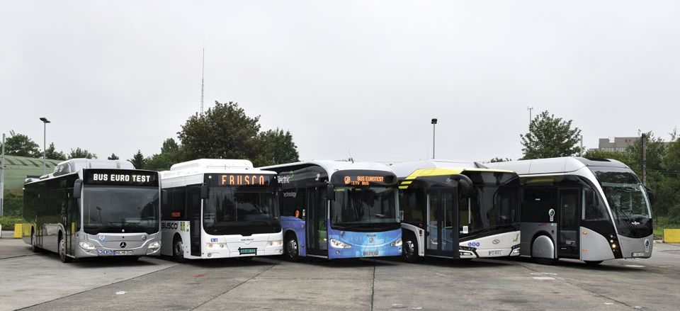 Bus Euro Test 2016 – Brussels lineup