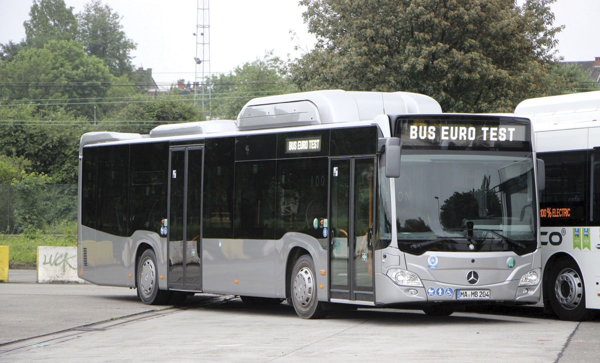 Bus Euro Test 2016 Brussels Bus Amp Coach Buyer