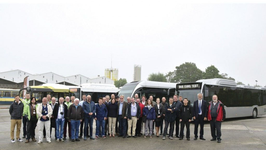 The Bus Euro Test brings together journalists and manufacturers for a week of evaluations