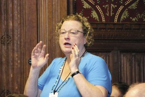 Claire Walters, Chief Executive of Bus Users UK