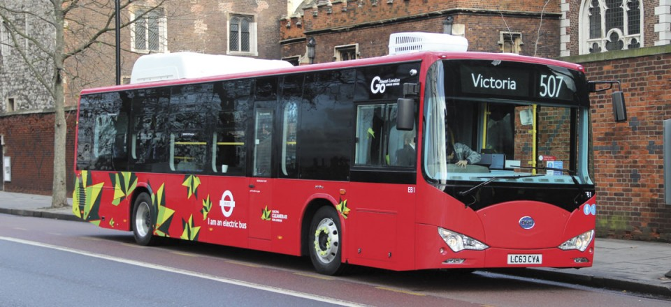 Two BYD e-Buses have been running from Waterloo since 2013