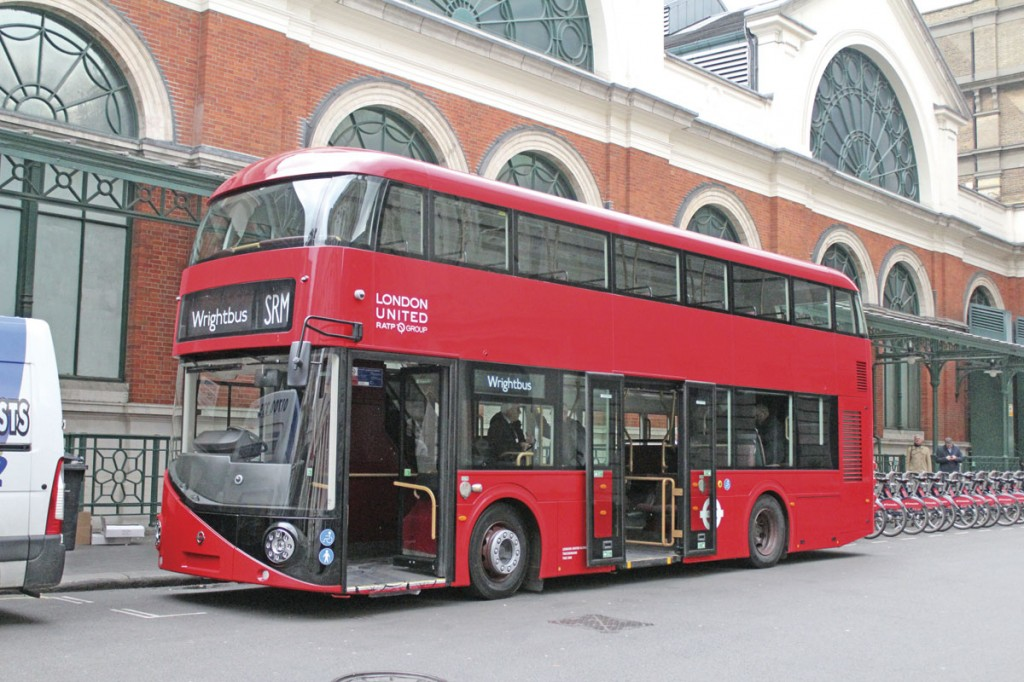 Carrying Wrightbus' SRM body, the B5LHC will be launched at Euro Bus Expo