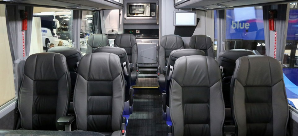 ADL Enviro 400 City with glazed panels to upper deck ceiling - int2