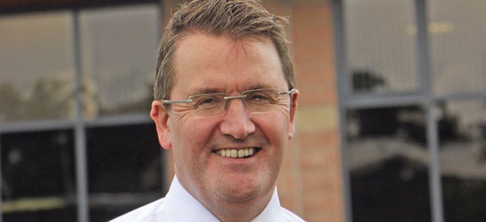 Colin Robertson, CEO of Alexander Dennis Limited