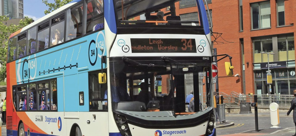 In addition to biomethane and hybrid, the Enviro400 is available with Euro6 diesel
