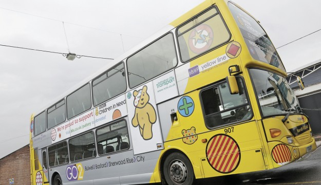NCT launches Pudsey Bus