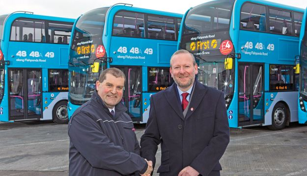 Enviro400s for First Bristol