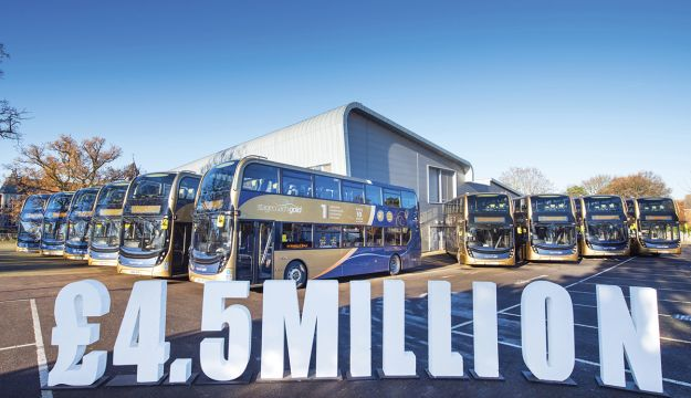 Stagecoach South invests £4.5m