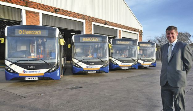 Stagecoach invests £4m in Newcastle