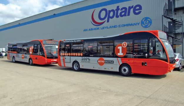 £8m Optare partnership continued