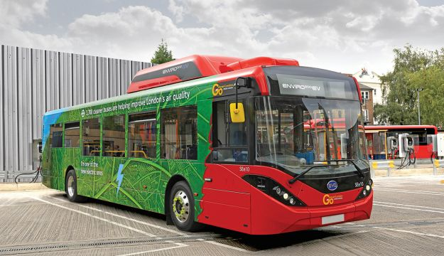 BYD-ADL win further Go-Ahead contract