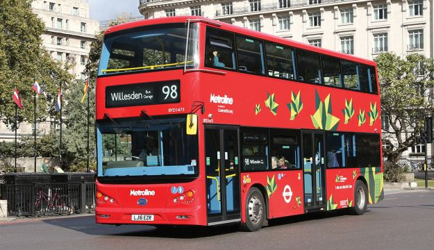More London Low Emission Bus Zones