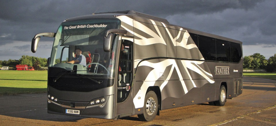 Many operators will have seen this Volvo B8R Plaxton Panther 3 executive demonstrator in its distinctive livery at the Blackpool Rally or at events such as CPT's North Weald ride and drive
