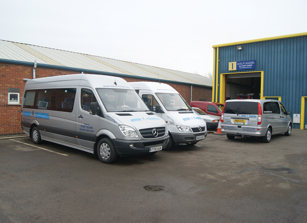 Step 1 travel bus coach buyer for Mercedes benz minibuses