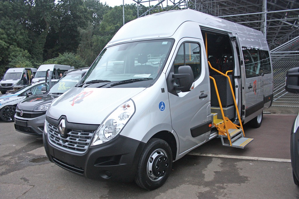 A Stanford Coachworks Renault Master will appear on the Eberspächer stand.