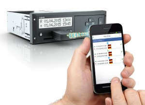 Continental Automotive is to display the latest in its tachograph technology.
