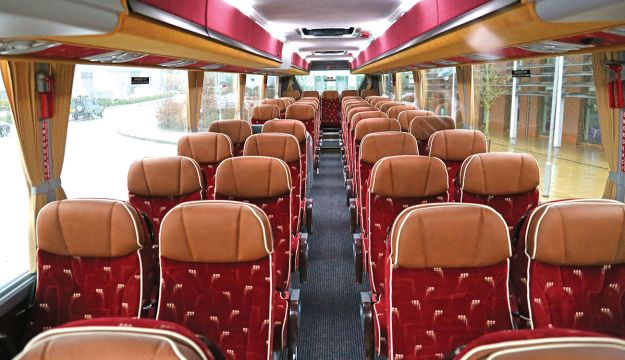 The interior features the Brusa Extend 500 seat with fully adjustable wraparound headrests.